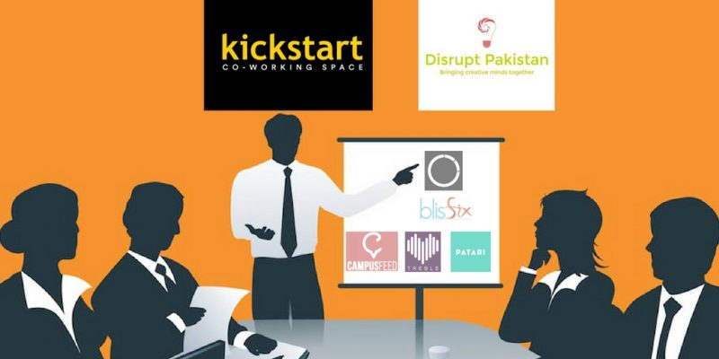 disruptpakistan2.0-kickstart-coworkingspace-johartown-freshstartpk-blog-pakistan-startups-demo-clubinternet-blisfix-campusfeed-treble-patari