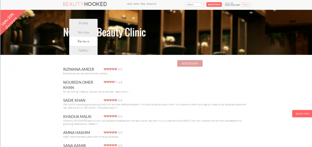 beautyhooked-newlook-sahrsaid-kiranchaudhari-salon-freshstartpk-freshtart-online-pr-startups-reviews