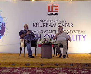 faisal-sherjan-khurram-zafar-47ventures-lumscenterentrepreneurship-patari-bookme-tie-lahore-fireside-chat-